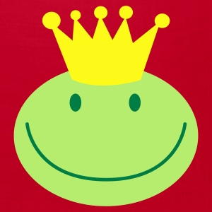 frog prince froggy face with a smile Caps - Bandana