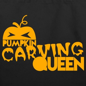 pumpkin carving queen for Halloween Bags  - Eco-Friendly Cotton Tote