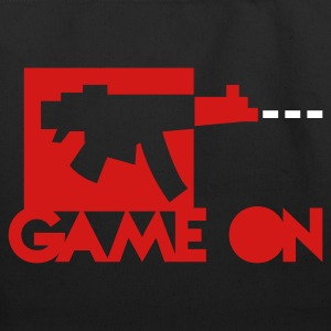 game on killstreak digital machine gun Bags  - Eco-Friendly Cotton Tote