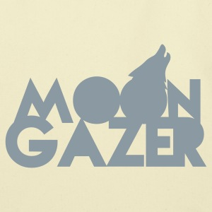 MOON GAZER wolf design Bags  - Eco-Friendly Cotton Tote