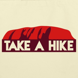rock take a hike -  HIKE trekking the rock Bags  - Eco-Friendly Cotton Tote