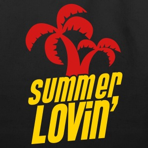 summer lovin funny holiday shirt Bags  - Eco-Friendly Cotton Tote