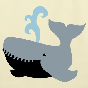 humpback whale cute! Bags  - Eco-Friendly Cotton Tote