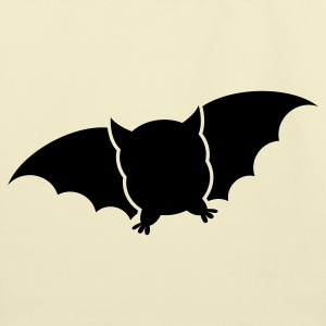 cute fat bat Bags  - Eco-Friendly Cotton Tote