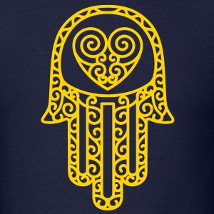Hand of Fatima - Hamsa T-Shirts - Men's T-Shirt