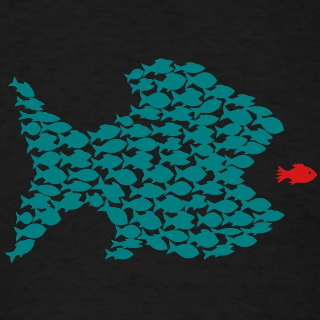 t-shirt fish swarm puffer fish blowfish pregnant hunt hunter ocean hunting fishing