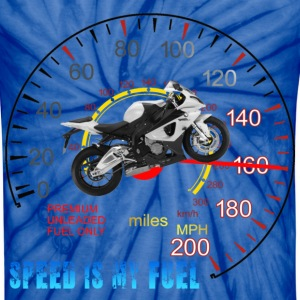 Speed is my Fuel MotorCycle 2 T-Shirts - Unisex Tie Dye T-Shirt
