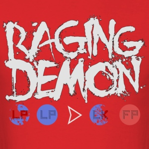 Raging Demon - Men's T-Shirt