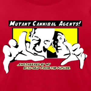 mutant_cannibal_agents T-Shirts - Men's T-Shirt by American Apparel