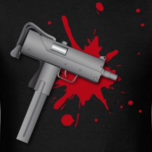 Mac 10 ( HD Pixel Design ) - Men's T-Shirt