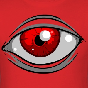 Red Eye ( HD Pixel Design ) - Men's T-Shirt