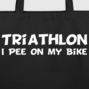 Triathlon I Pee On My Bike Bags  - Eco-Friendly Cotton Tote