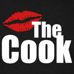 Kiss the cook T-Shirts - Men's T-Shirt