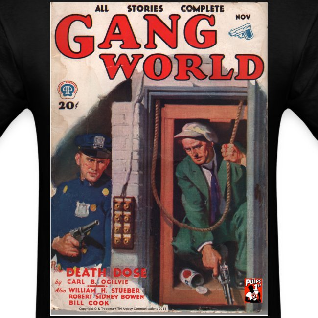 Gang World Pulp Cover