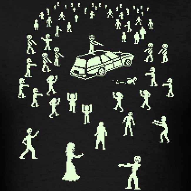 Glow in the Fucking Dark Organ Trail Shirt