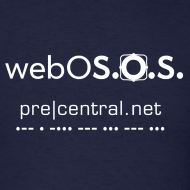 Design ~ webOS.O.S (white)  Men's Standard T-Shirt