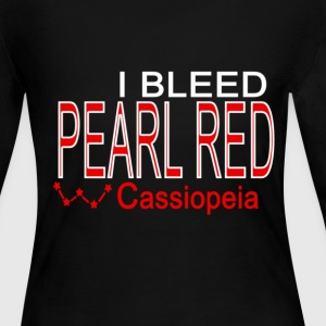I bleed pear red Long Sleeve Shirts - Women's Long Sleeve Jersey T-Shirt
