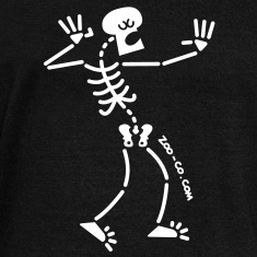 Singing Skeleton Long Sleeve Shirts