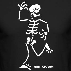 Dancing Skeleton Long Sleeve Shirts - Men's Long Sleeve T-Shirt by Next Level
