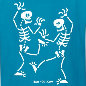 Dancing Skeletons Kids' Shirts - Kids' T-Shirt