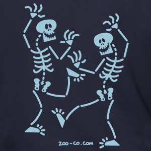 Dancing Skeletons Zip Hoodies/Jackets - Men's Zip Hoodie