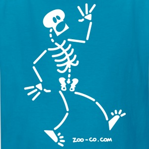 Frightened Skeleton Kids' Shirts - Kids' T-Shirt