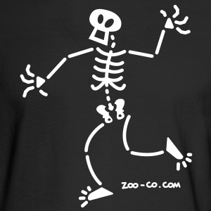 Surprised Skeleton Long Sleeve Shirts - Men's Long Sleeve T-Shirt