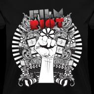 Design ~ Film Riot Ladies Black Tee