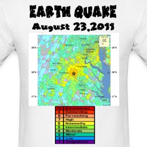 Earth Quake 2011 - Men's T-Shirt