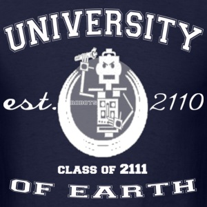 University Of Earth - Men's T-Shirt