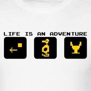 Life is an Adventure - Atari - Men's T-Shirt