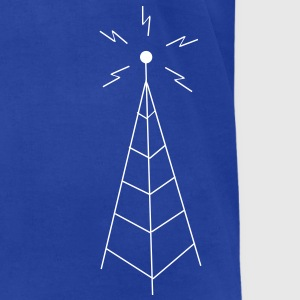 Antenna T-Shirts - Men's T-Shirt by American Apparel