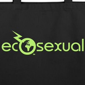 Ecosexual Shopping Bag - Eco-Friendly Cotton Tote