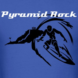 Pyramid Rock Surf Spot - Men's T-Shirt