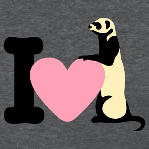 i_love_ferret Women's T-Shirts - Women's T-Shirt