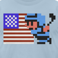 Design ~ NES Ice Hockey - USA Side-by-Side