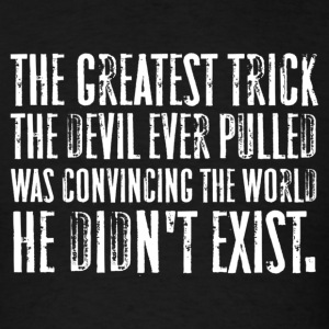 The Usual Suspects - The Greatest Trick the Devil Ever Pulled - Men's T-Shirt