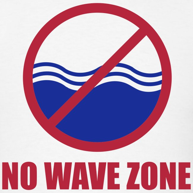 Men's No Wave Zone T-Shirt
