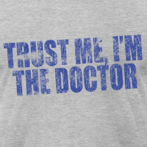 Trust Me, I'm The Doctor | Robot Plunger T-Shirts - Men's T-Shirt by American Apparel