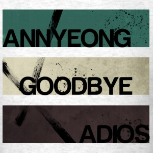 2NE1 - Annyeong Goodbye Adios - Men's T-Shirt