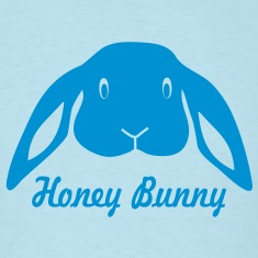 bunny rabbit hare puss easy prey ears easter cute  T-Shirts