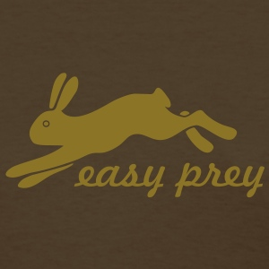 bunny rabbit hare puss easy prey ears easter cute  Women's T-Shirts - Women's T-Shirt
