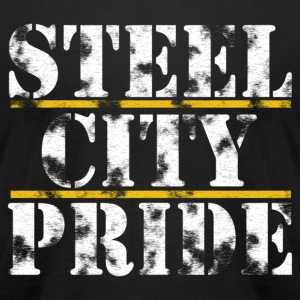 Steel City Pride T-Shirts - Men's T-Shirt by American Apparel