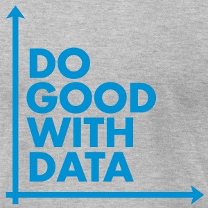 Do Good With Data Line Graph - Men's T-Shirt by American Apparel