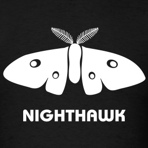 moth butterfly nighthawk fly by night stag night T-Shirts - Men's T-Shirt