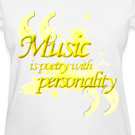 Design ~ Music is poetry with personality