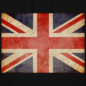 Faded UK Flag Hoodies - Women's Hoodie