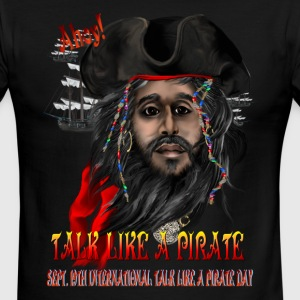 Talk Like A Pirate - Men's Ringer T-Shirt