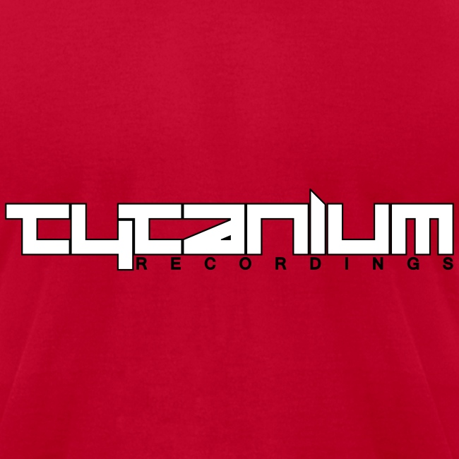 Tytanium Recordings 2-color Logo Tee (Selectable Colors)
