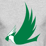 Design ~ Long-Sleeved Osprey Shirt - Green Print